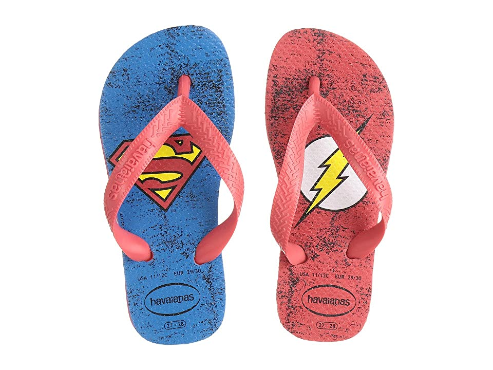 Havaianas Kids Heroes DC Flip-Flop (Toddler/Little Kid/Big Kid) (Ruby Red) Boys Shoes