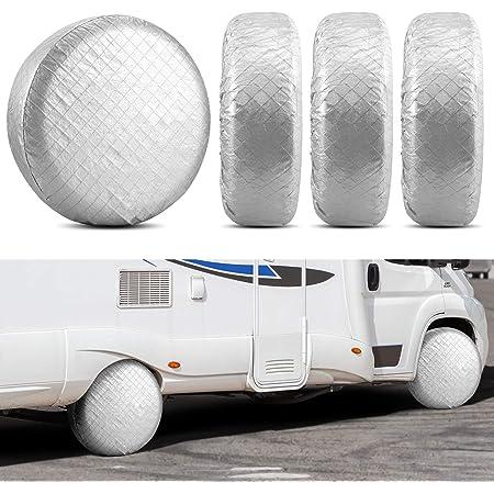ADCO 3933 Black Double Axle Tyre Gard Wheel Cover