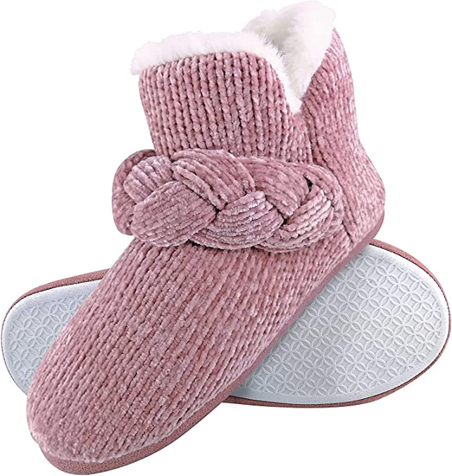 ❤️ Dunlop Ladies Pink Slipper Booties £9.00 1 WEEK ONLY ! SIZE 5 ❤️ SALE !