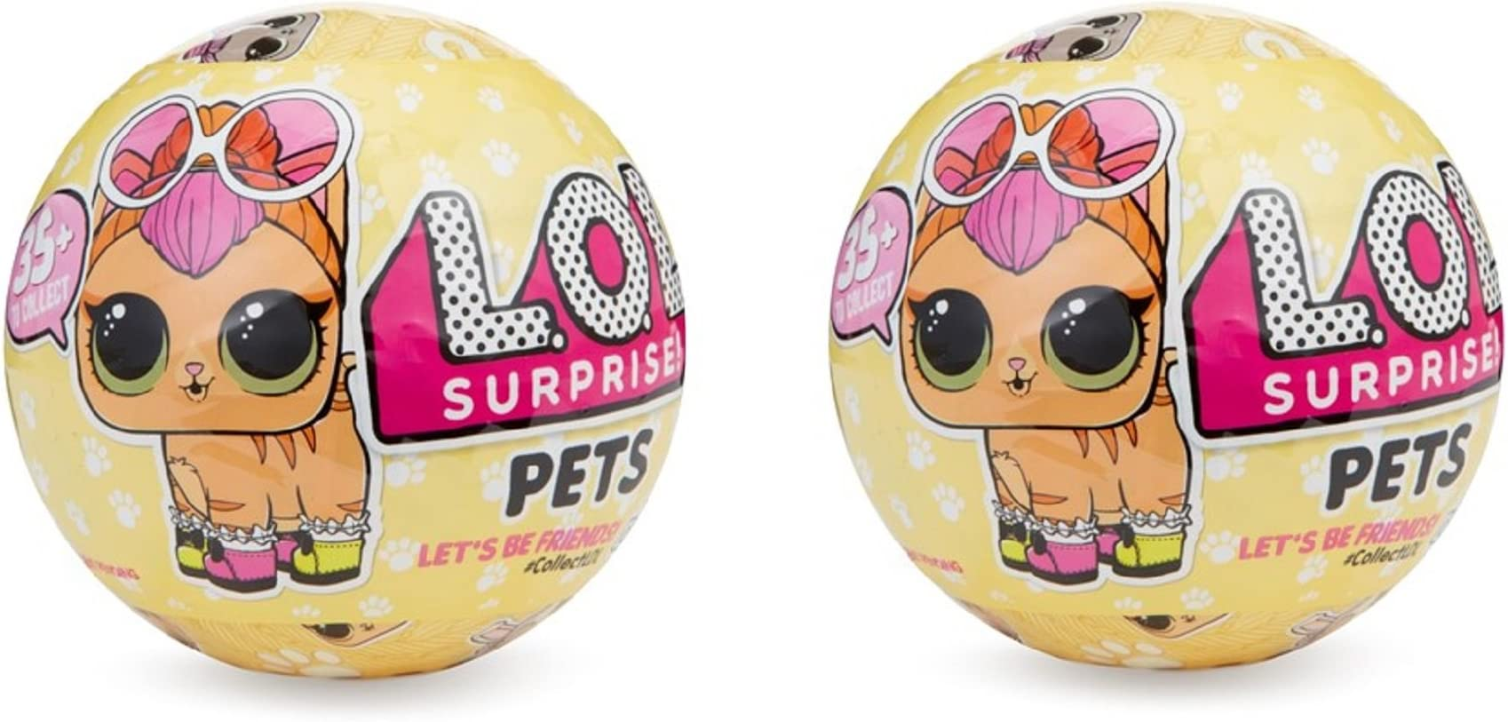 1 BALL FREE SHIPPING L.O.L MGAE LOL SURPRISE PETS SERIES 3  WAVE 1