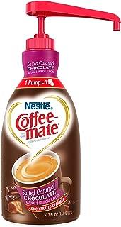 Nestle Coffee-mate Coffee Creamer, Salted Caramel Chocolate, liquid pump bottle, 50.7 Fl. Oz (Pack of 1)