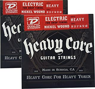 Dunlop Heavy Core Strings - Heavy 10-60 2 Pack Box of 6 Sets DHCN1060-6