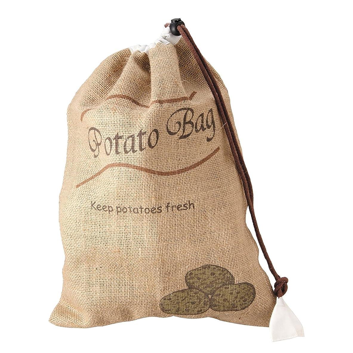 言い換えると送信する奪うティーライフ 野菜保存袋 ポテト 幅27.5×奥行38cm ベジバッグ 31012