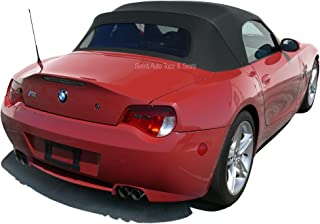 Sierra Auto Tops Convertible Soft Top, compatible with BMW Z4 2003-2008, w/Heated Glass Window, TwillFast RPC Canvas, Black