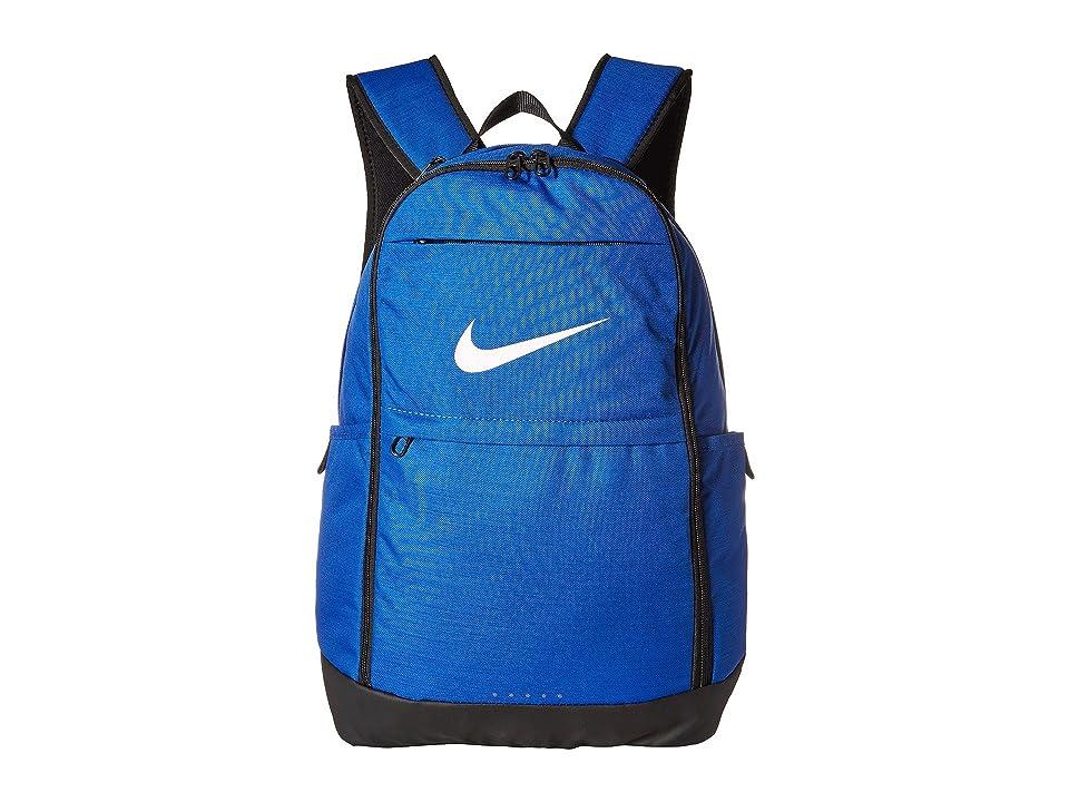 d6a9630046 Nike Brasilia XL Backpack (Game Royal Black White) Backpack Bags