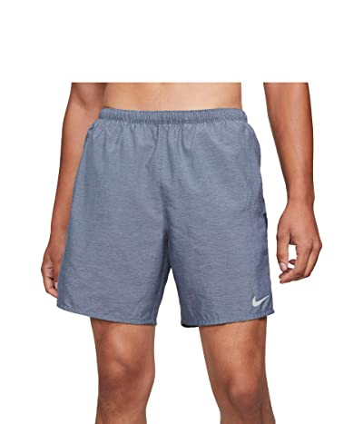 Nike Dri-FIT Challenger Shorts 7 Brief (Obsidian/Heather/Reflective Silver) Men