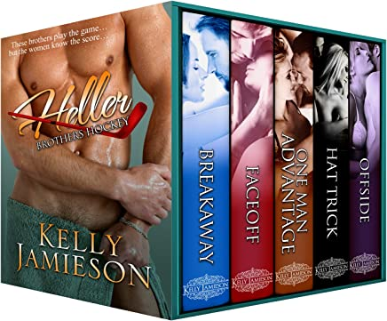 Heller Brothers Hockey — A Five Book Hockey Romance Collection