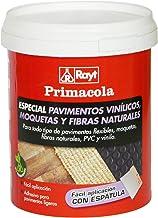 Rayt 524-09 Primacola Plus C-10 Adhesivo acrílico unilateral para revestimientos ligeros: moquetas, pavimentos de PVC, goma o caucho de hasta 4 mm de grosor. Fácil aplicación con espátula. 1 kg
