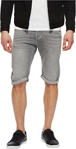 Arc 3D 1/2 Shorts in Racha Grey Denim