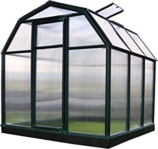 Rion EcoGrow 2 Twin Wall Greenhouse, 6' x 6'