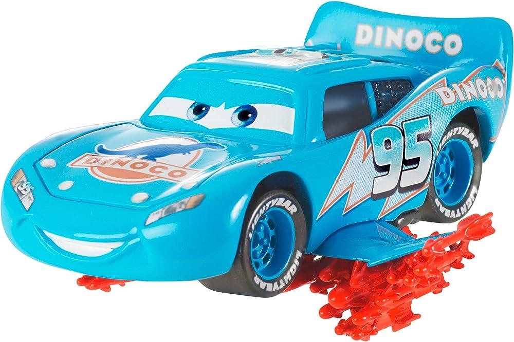 Mattel,cars deluxe , saetta mcqueen super fulmine Y0555