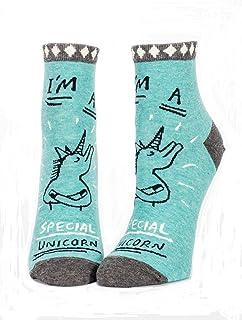 Blue Q Women`s Novelty Ankle Socks