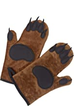 William's Cooking Bear Oven Mitts with Pot Holders