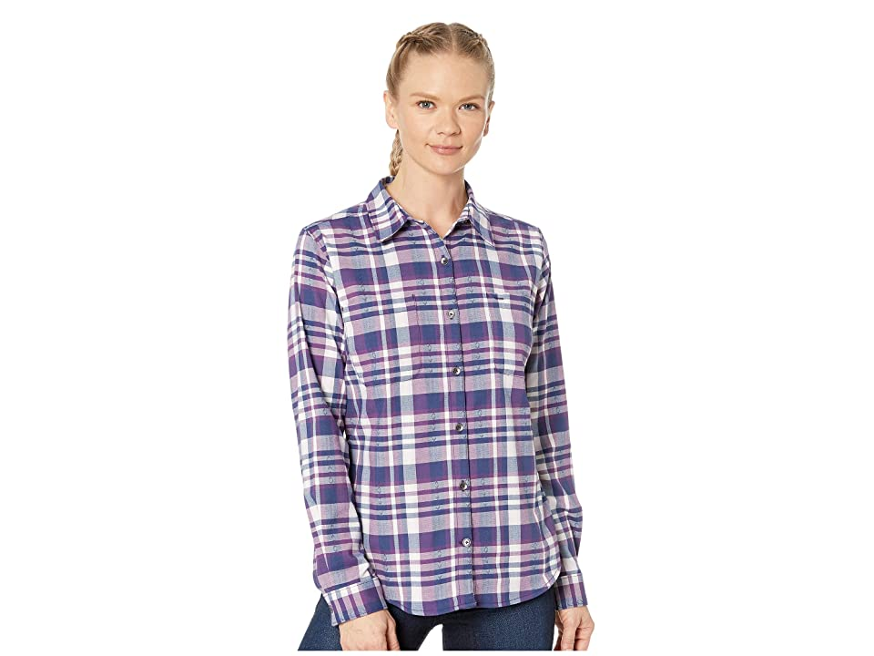 Royal Robbins Thermotech Flannel (Blue Depths) Women