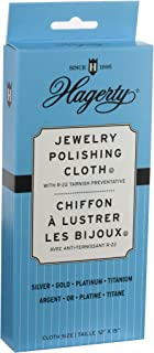 Hagerty 15700 12-by-15-inch Jewelry Polishing Cloth, Gray