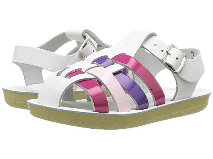 Salt Water Sandal by Hoy Shoes  Sun-San - Sailors (Toddler/Little Kid) (Multi) Girls Shoes