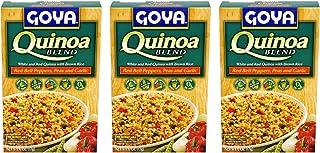 Goya Quinoa Blend Mixes 3 Pack (Quinoa Blend with Red Bell Peppers, Peas &Garlic)