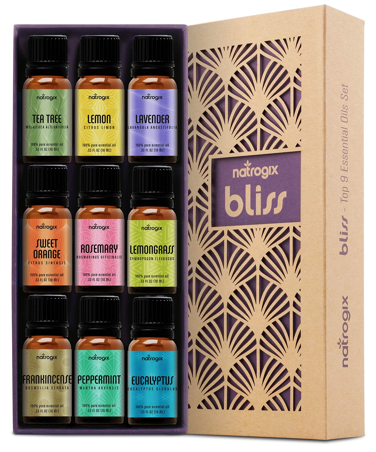 Natrogix Bliss Essential Oils Book