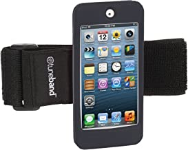 TuneBand for iPod Touch 5th Generation / 6th Generation, Premium Sports Armband with Two Straps and Two Screen Protectors (Fits Models A1421/A1509/A1574), Black