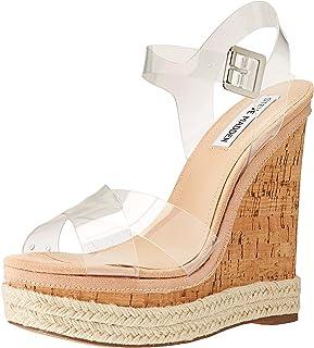d20703ec65 FREE Shipping on eligible orders. Steve Madden Women's Maven Wedge Sandal