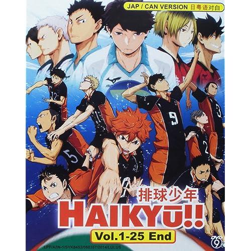 HAIKYUU!! - COMPLETE TV SERIES DVD BOX SET (1-25 EPISODES)