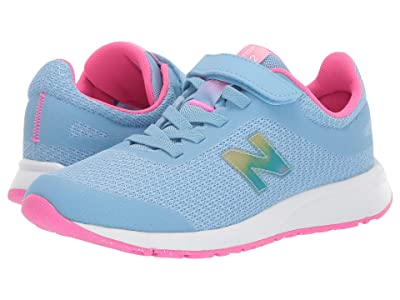New Balance Kids 455v2 (Little Kid/Big Kid) (Summer Sky/Light Peony) Girls Shoes