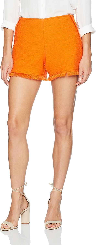 Trina Turk Women's Kleo Stretch Cotton Slub Short