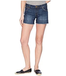 Gidget Fray Shorts in Stimulating/Dark