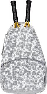 LISH Ace Tennis Racket Backpack - Women's Tennis Racquet Holder Bag
