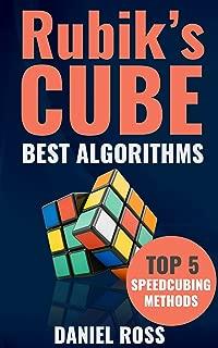 Rubik's Cube Best Algorithms: Top 5 Speedcubing Methods, Finger Tricks included, A Beginner's Guide with Easy instructions