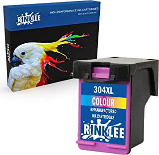 comprar comparacion RINKLEE Remanufacturado para HP 304XL Cartucho de Tinta Compatible con HP Envy 5010 5020 5030 5032 Deskjet 2600 2620 2622 ...