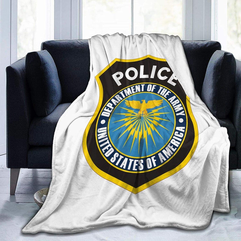 American Fresno Mall Police Super Soft Washa Large 2021 new Microfleece Blanket