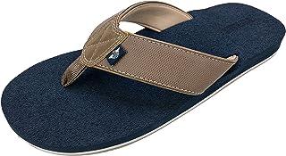 DOCKERS Men's Sandal Super Cushion Flip Flop, Pool and Beach Sandals, Men's sizes 7-8 to 11-12