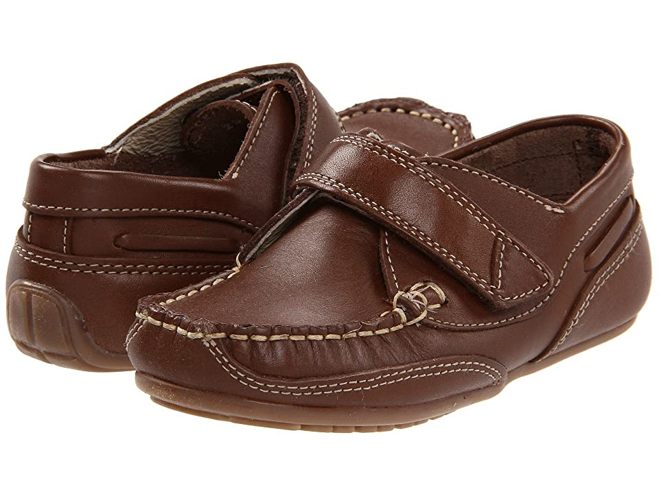 Kid Express Chase (Toddler/Little Kid) (Dk. Brown Leather) Boys Shoes