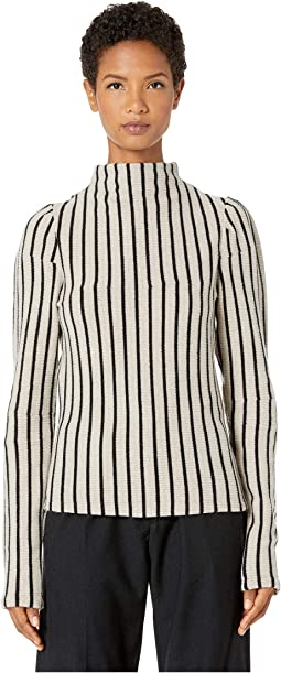 Biege Striped/Black