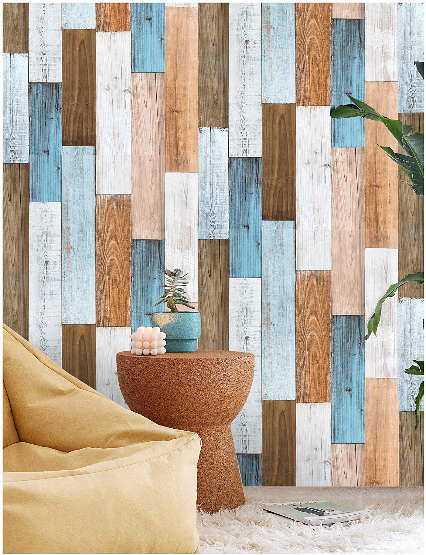 Amazon Co Jp 壁紙シール はがせる 木目 壁紙 剥 はがせる 多色 自己接着壁紙 寝室 家 装飾 壁紙屋本舗 0 45m X 3m Diy 工具 ガーデン