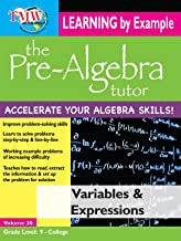 Pre-Algebra Tutor: Learning By Example - Variables and Expressions