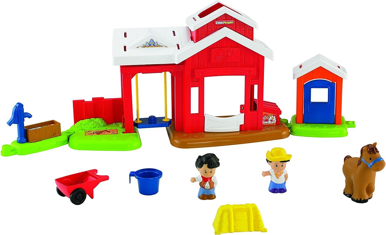 Mattel BFT86 - Fisher-Price Little People Pferdestall