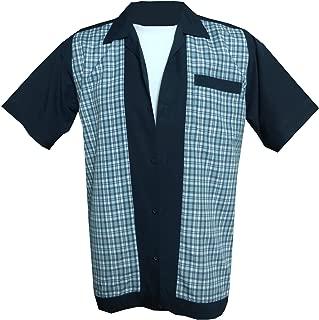1950s/1960s Rockabilly,Bowling, Retro, Vintage Men's Shirt