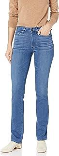 PAIGE Women's Hoxton Transcend Vintage High Rise Straight Leg Jean