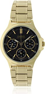 Casio Watch For Women - Stainless Steel - Analog Display
