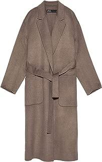 Zara Women Belted Coat 4070/223