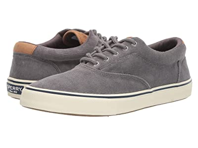 Sperry Striper II CVO Corduroy (Grey Corduroy) Men