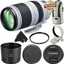 Canon EF 100-400mm f/4.5-5.6L is II USM Lens International Version 9524B002 - Starter Bundle