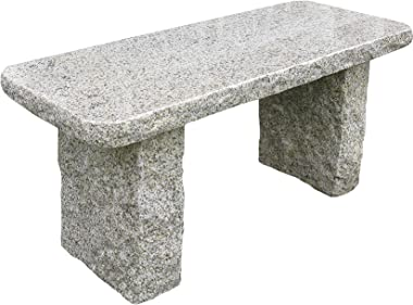 Stone Age Creations BE-GR-5 Granite Bench, Gold