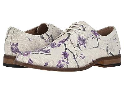 Stacy Adams Dandy Plain Toe Print Oxford (Lavender) Men