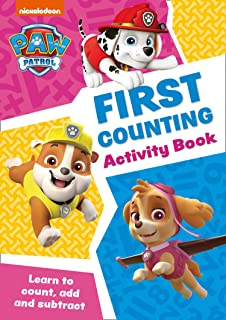 PAW Patrol First Counting Activity Book: Get Ready for School with Paw Patrol