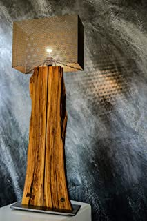 Lampada da terra in legno massiccio gizmo