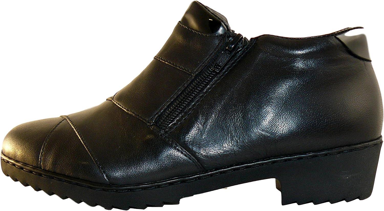 Rieker Damen Stiefeletten M0651-01 01 schwarz 367025