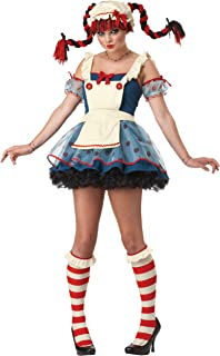 California Costumes Rag Doll Teen Costume